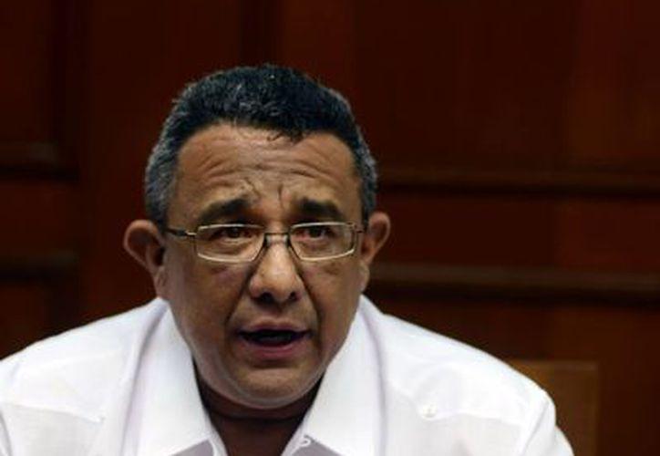 El presidente de la Canacintra, delegación Yucatán, Mario Can Marín, calificó de positivo este ejercicio democrático. (Milenio Novedades)