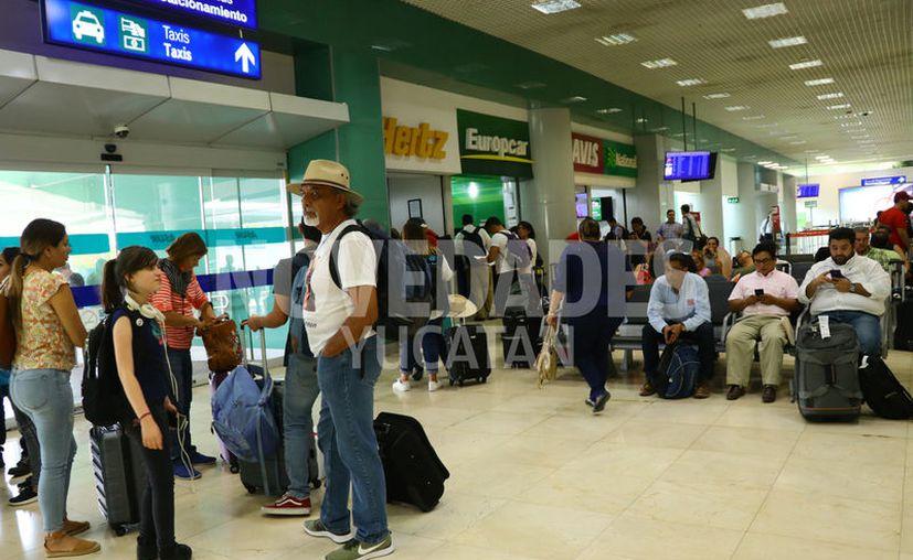 Asur resaltó que la temporada vacacional de Semana Santa marcó también cifras nuevas. (Jorge Acosta/Novedades Yucatán)