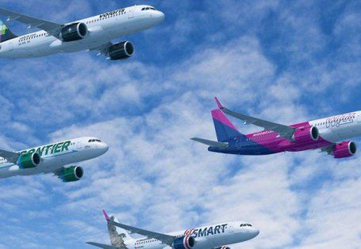 Airbus venderá sus aviones por 49 mil 500 millones de dólares. (Airbus).