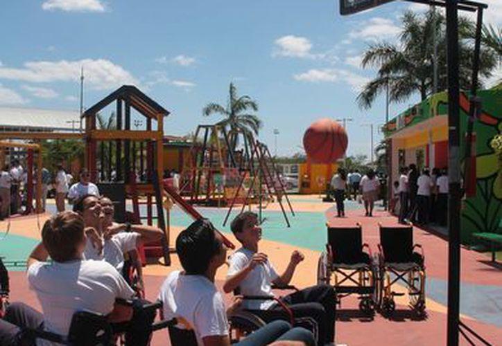 """El parque """"La Selva"""" es uno de los dos parques incluyentes que hay en Cozumel, el otro es """"Las Golondrinas"""". (Julian Miranda/SIPSE)"""