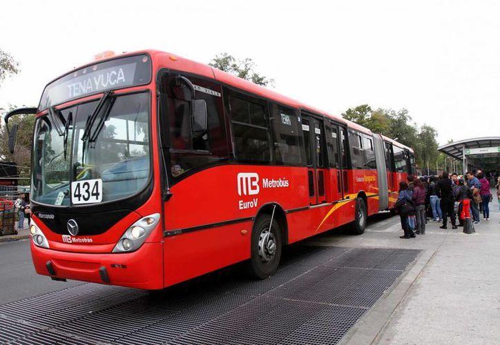 El Metrobús que operará en Paseo de la Reforma será la Línea 7 y requerirá de dos carriles exclusivos. Imagen de archivo. (Archivo/Notimex)