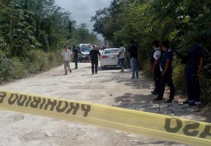 Los elementos de la Cruz Roja Mexicana no lograron acercarse al lugar debido a las indicaciones de la Policía Municipal.