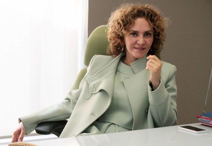 Angélica Fuentes Téllez es una de las empresarias con más poder en el país. Es directora ejecutiva de Omnilife y esposa de Jorge Vergara, propietario del club mexicano de futbol Club Deportivo Guadalajara. Las mujeres cada vez ganan más terreno demostrando que tienen las mismas capacidades que los hombres. (Notimex)