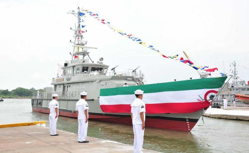El buque 'Monte Albán' tuvo un costo de 10.5 millones de dólares. (Semar)