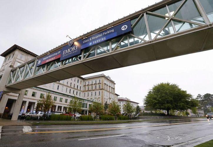 Vista del Hospital Universitario Emory en Atlanta, Georgia, donde ha yan sido ingresados dos pacientes contagiados del ébola. (EFE)