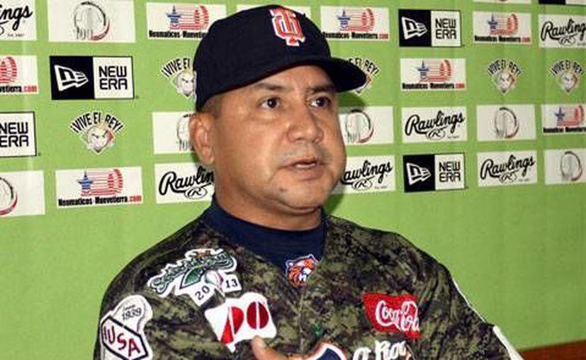 El Chapo Vizcarra durante la entrevista. (Redacción/SIPSE)
