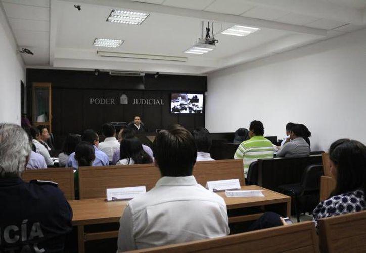 Hasta hoy se han llevado a cabo 26 audiencias de juicio oral, pero el 24 de marzo se realizará el primer juicio oral en Mérida en relación con un asesinato. (SIPSE/Foto de contexto)
