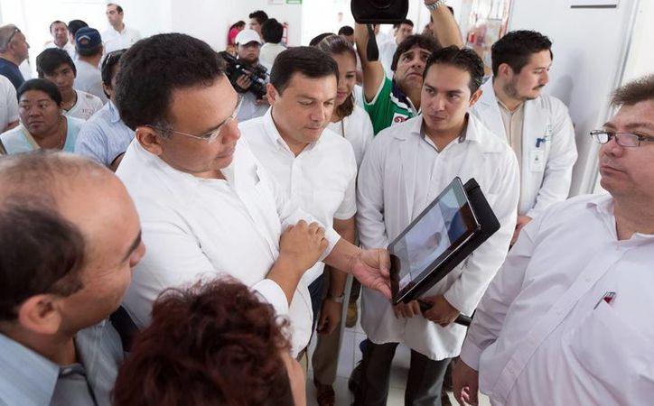 Este miércoles el mandatario estatal estará en el Centro Nacional de Innovación y Transferencia de Tecnología del Parque Científico Tecnológico de Yucatán. (Archivo/ Milenio Novedades)