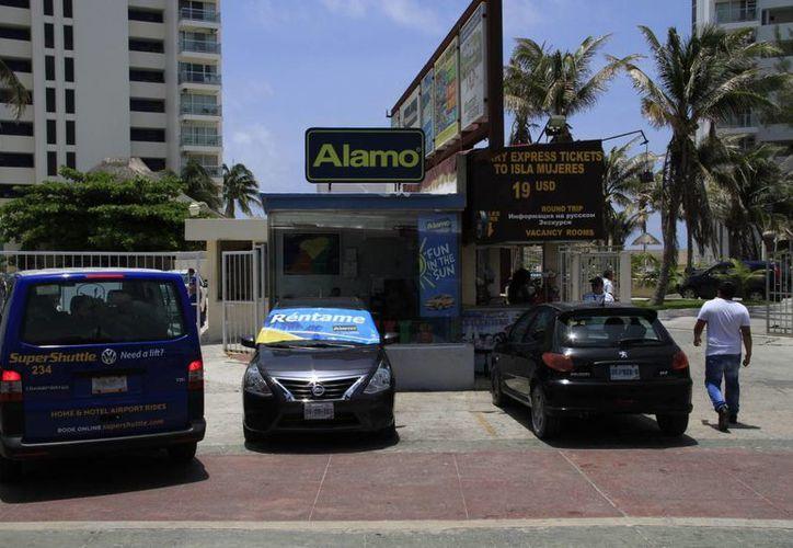 Las arrendadoras buscan protegerse para evitar la corrupción con placas únicas. (Tomás Álvarez/SIPSE)