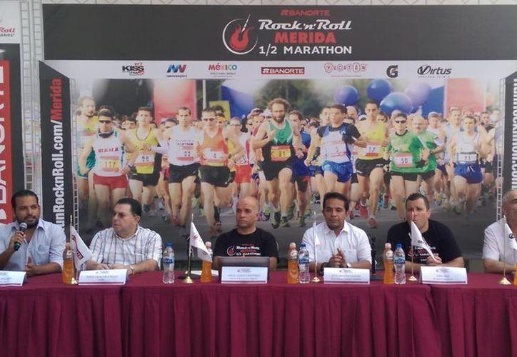 La inscripción para la primera edición del Rock n Roll Marathon Series Mérida 2015 tendrá un costo de 70 dólares por persona. (SIPSE)