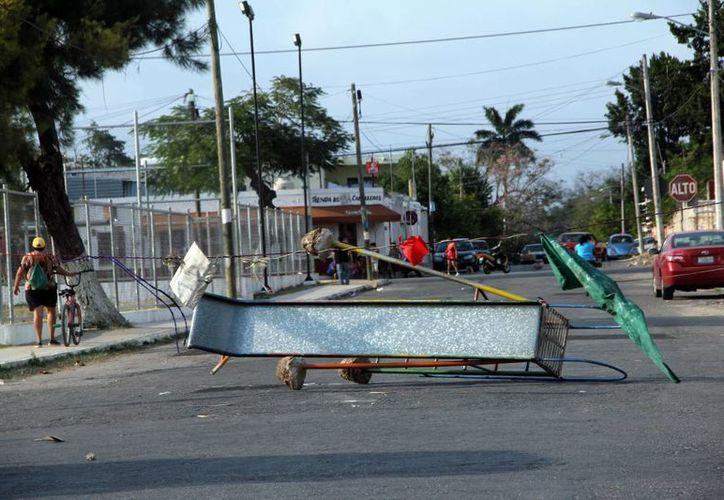 El Ayuntamiento interpondrá la denuncia correspondiente contra quien resulte responsable. (José Acosta/SIPSE)