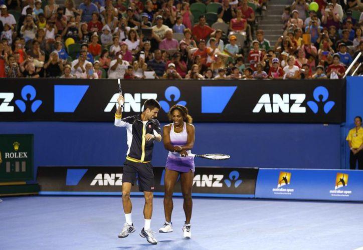 Novak Djokovic y Serena Williams son una vez más los dos mejores tenistas del mundo. (fanpage.it)