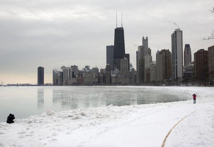 El frío es consecuencia del sistema climático que afecta la parte central de Estados Unidos, que está dando las temperaturas más bajas en casi 40 años. (Agencias)