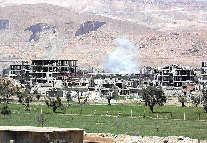 El Papa condenó con fuerza el uso de armas químicas en Siria. (AFP)