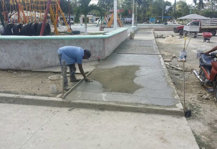 Para este proyecto se erogaron alrededor de 500 mil pesos por parte del municipio. (Edgardo Rodríguez/SIPSE)