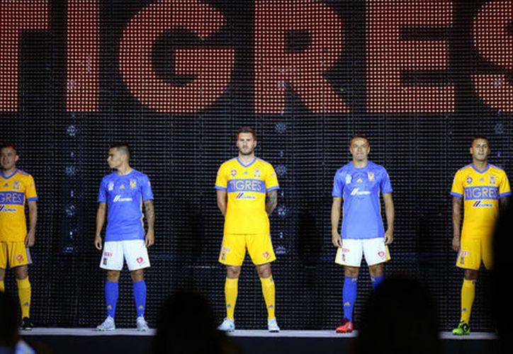 Tigres reveló los nuevos jerseys con los que jugará. (Imago7).