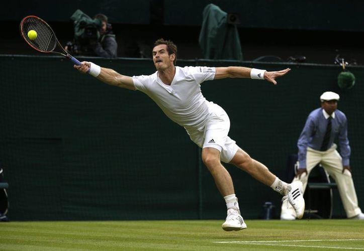 Murray ha ganado todos los sets que ha disputado en Wimbledon. (Foto: AP)