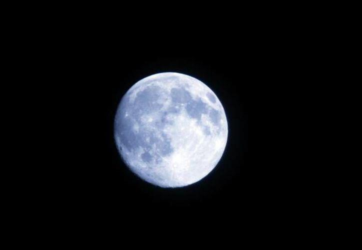 La luna podrá ser apreciada este domingo por los yucatecos de una forma muy especial. (Notimex)