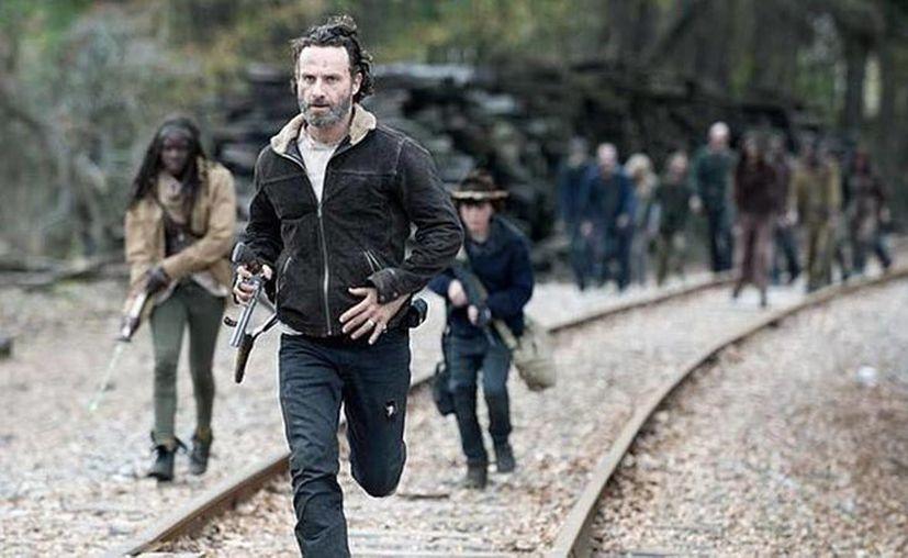 La serie de televisión de AMC sobre el apocalipsis zombie, The Walking Dead, tuvo un capítulo dramático. (Agencias/Archivo)