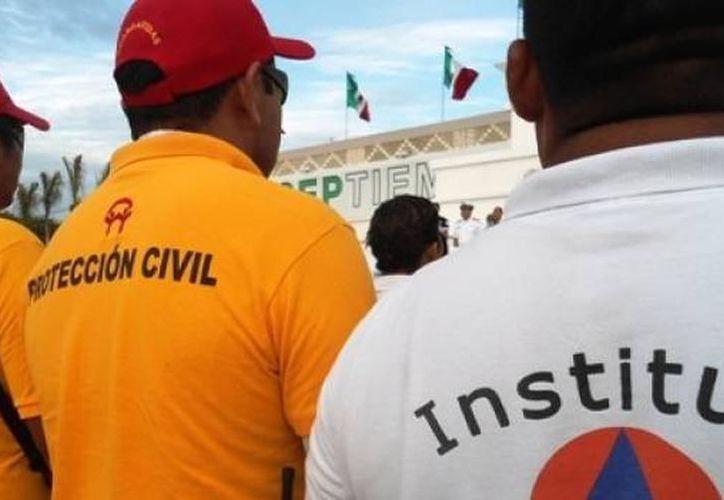 Preparan una serie de simulacros en diversos puntos de la zona urbana de Solidaridad. (Archivo/SIPSE).