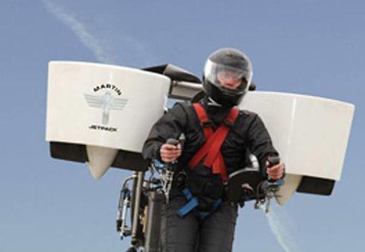 El último prototipo incorpora importantes modificaciones de diseño respecto de las versiones precedentes. (martinjetpack.com)