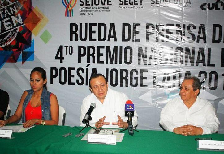Sedeculta y Sejuve esperan recibir unos 600 trabajos de todos el país en esta nueva edición del Premio 'Jorge Lara'. (Cortesía)