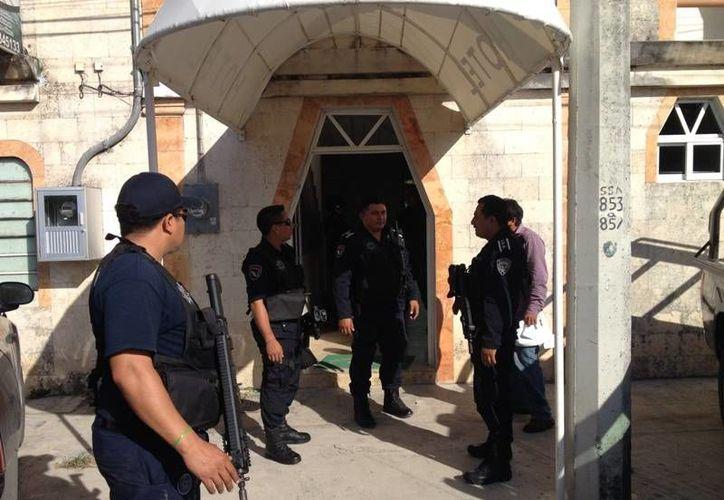 El grupo de personas fue puesto a disposición del Instituto Nacional de Migración. (Redacción/SIPSE)