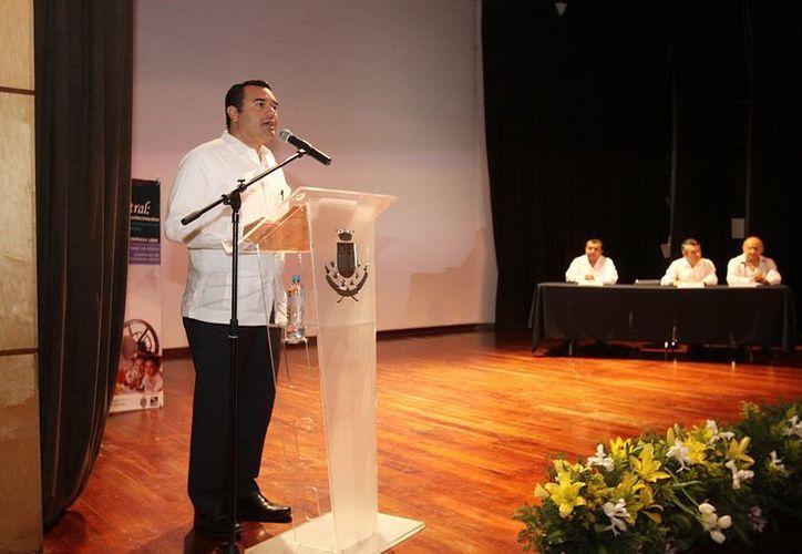 Según el alcalde, Renán Barrera, autoridades y expertos desarrollarán acciones que permitan redoblar esfuerzos en beneficio del patrimonio histórico. (Cortesía)