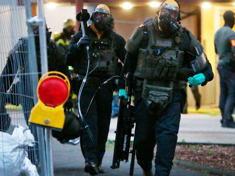 Prosecutors wouldn't say how much ricin the suspect had produced. (AP)