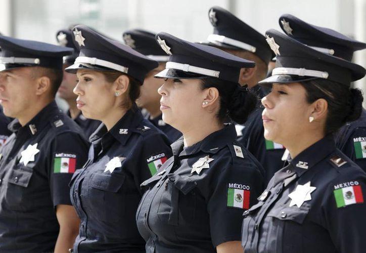 El objetivo del operativo de la Policía Federal es que 'la gente esté tranquila' en estas vacaciones de Semana Santa. (Notimex)