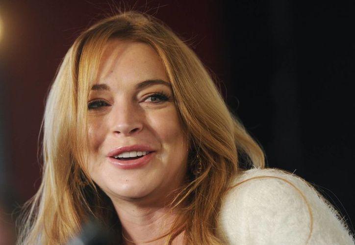"""El debut teatral de Linday Lohan en Londres está programado para septiembre con la obra """"Speed-the-Plow"""", de David Mamet, anunciaron los productores. (AP)"""
