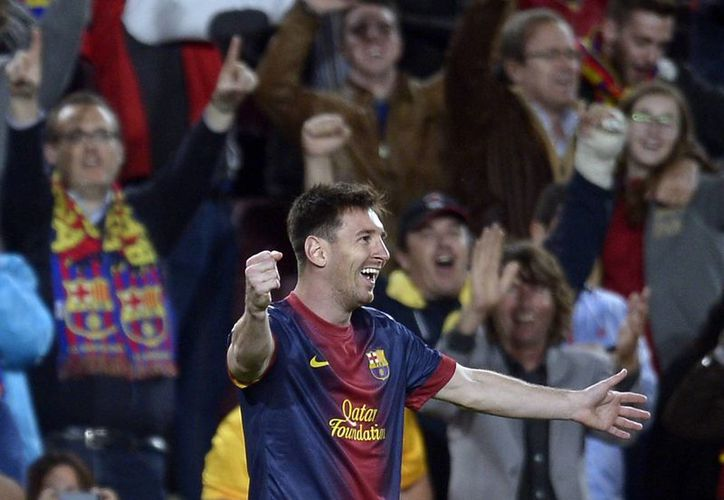 Messi anotó dos goles este fin de semana frente al Betis. (Agencias)