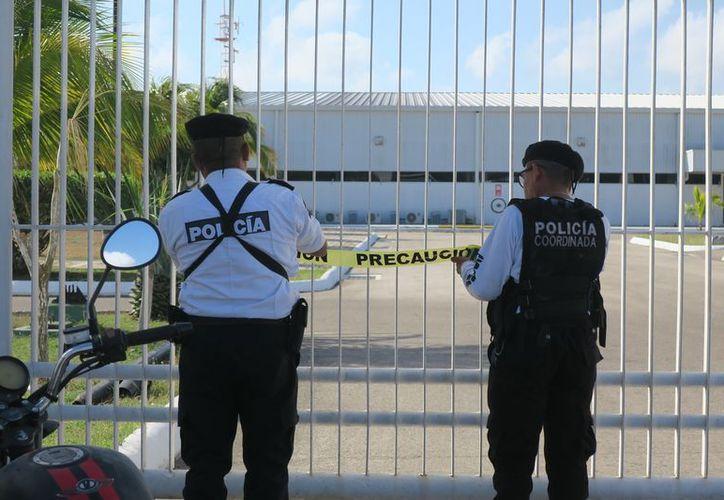 Autoridades realizan las investigaciones.  (Novedades Yucatán)