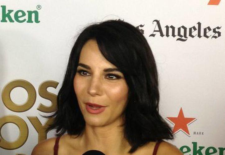 Martha Higareda está por estrenar un filme como productora y también podría actuar una vez más con Televisa. (Notimex)