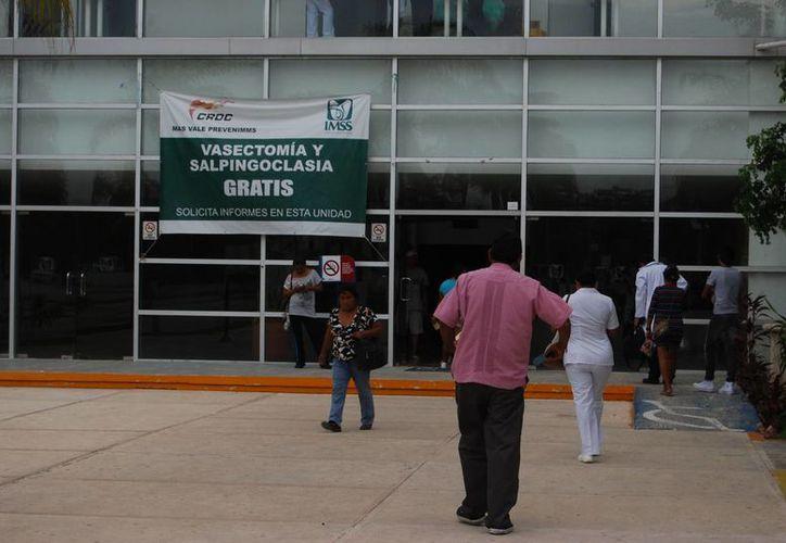 El procedimiento es gratuito para los usuarios del IMSS. (Tomás Álvarez/SIPSE)
