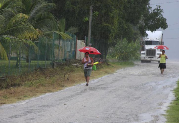 Para que bajen todos los cruces de agua debe dejar de llover por lo menos una semana. (Archivo/SIPSE)