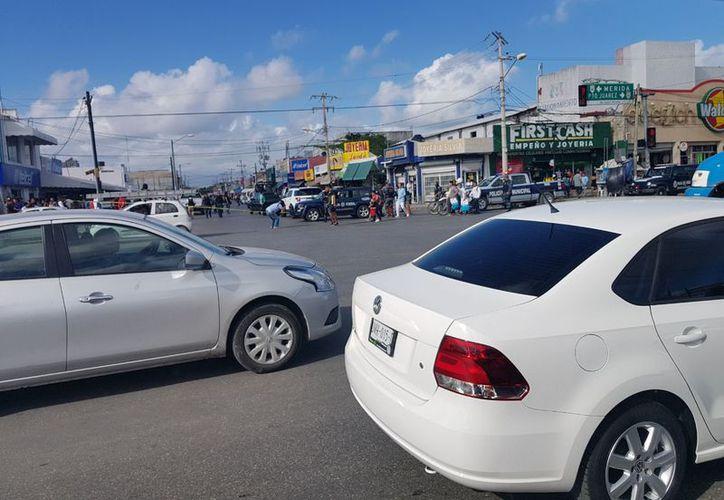 La joyería se ubica en el cruce de las avenidas Tulum con López Portillo. (Redacción)