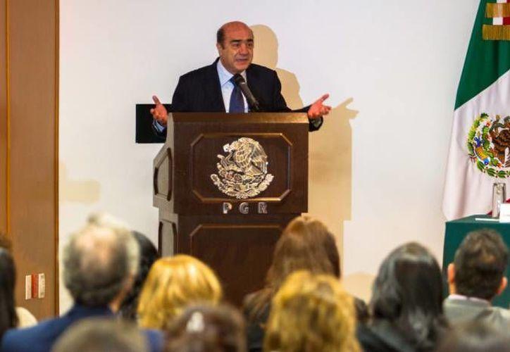 Jesús Murillo Karam, actual titular de la PGR. (Archivo/Notimex)