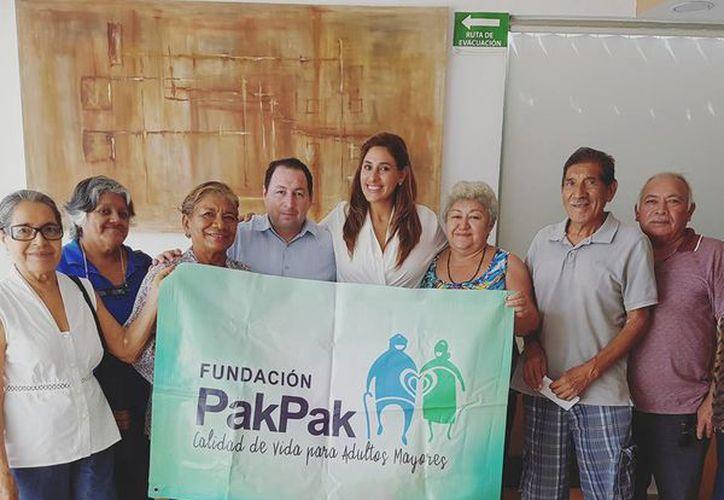 Integrantes de la Fundación Pak Pak invitan a que la sociedad acuda a su festejo. (Foto: Fundación Pak Pak)