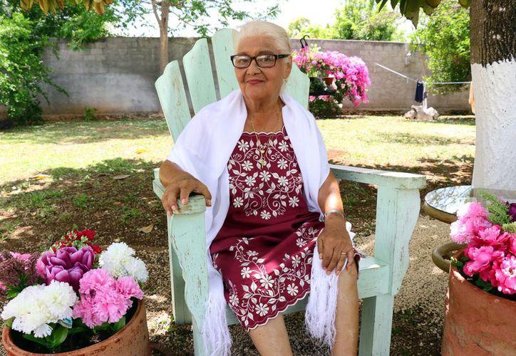 La señora Elvira Castellanos Moreno. (Milenio Novedades)