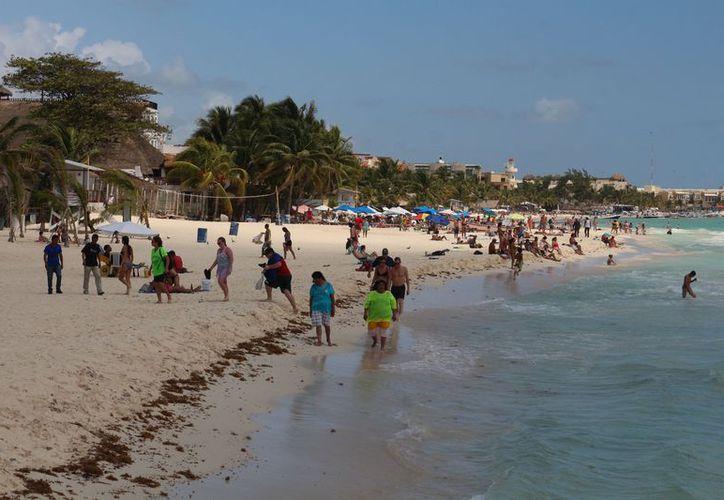 Playa Fundadores, también conocida como centro y Caribe, es una de las que se pretenden certificar. (Adrián Barreto/SIPSE)