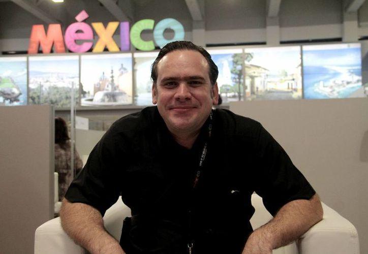 El chef Roberto Solís, del restaurante Néctar y Almíbar, es uno de los participantes en el proyecto Los Sabores de Yucatán. (Notimex)