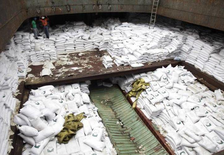 Cuba dijo que era simplemente una donación de azúcar al pueblo norcoreano. (Archivo/AP)