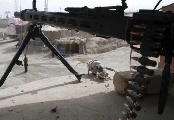Al menos 15 talibanes murieron a raíz de operaciones de fuerzas de seguridad. (Agencias/Archivo)