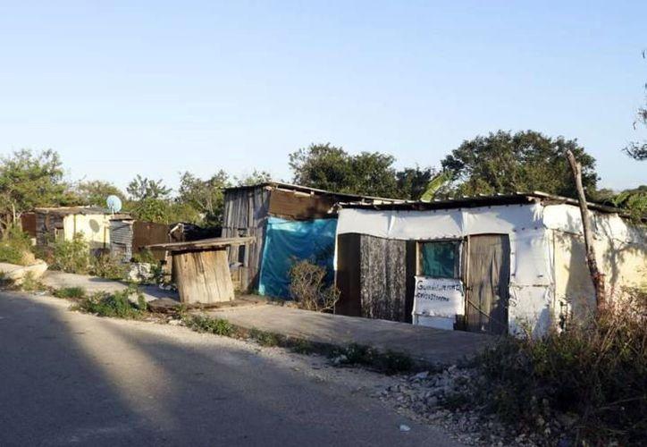 La invasión de terrenos se da en varios municipios. (Novedades Yucatán)
