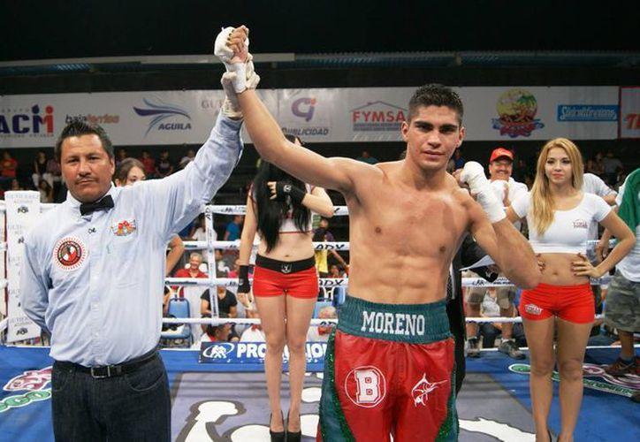 Patricio Moreno subrayó que noqueará en el sexto round a Dante Jardón en peso ligero, en la función 'Guerreros en la Coliseo'. (boxaldia.com)