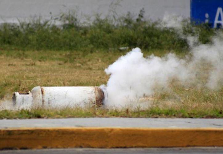Fugas de gas pueden propiciar accidentes, como el que ocurrió el año pasado en una tortillería en Mérida. (SIPSE)