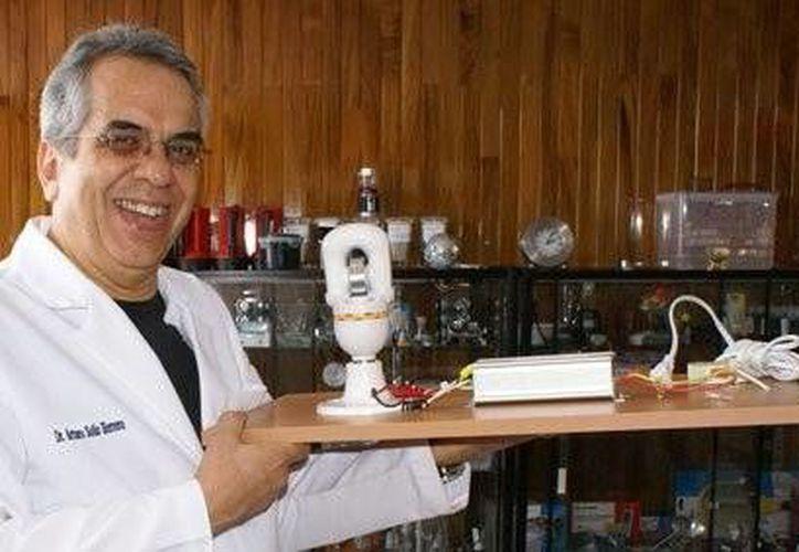 El gobierno de Rusia concedió la patente al invento del mexicano. (Facebook/Arturo Solís Herrera)