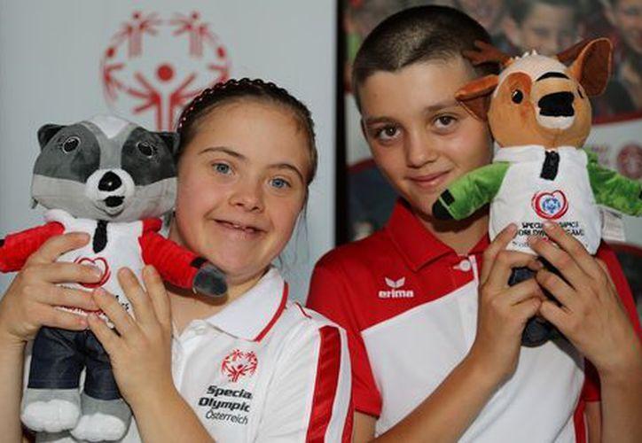 En las Olimpiadas Especiales de Invierno de este año participan 110 países. (La afición).