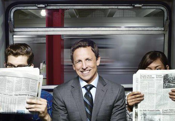 Seth Meyers es el presentador del programa de NBC 'Late Night with Seth Meyers' y fue miembro del 'Saturday Night Live' desde 2001. (nbc.com)